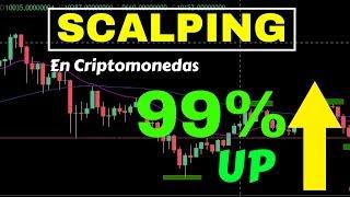 Scalping en Criptomonedas - Como obtener 99% de profit en 10 operaciones con el Bitcoin bajando 🚀