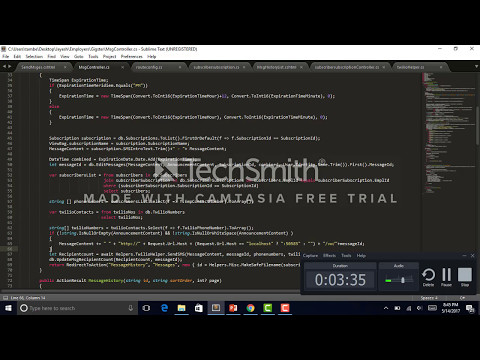 Gigster Screencast for Interview, Web app explanation