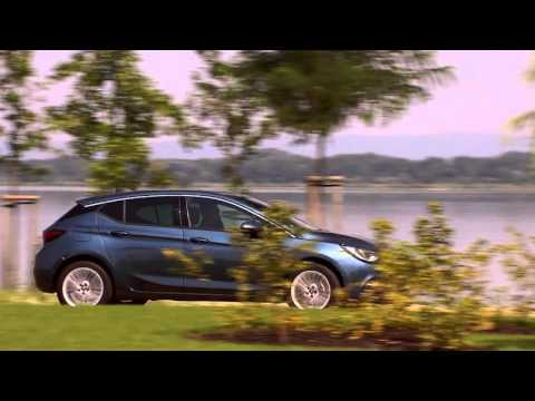 new 2016 opel astra k in blue static and driving shots. Black Bedroom Furniture Sets. Home Design Ideas