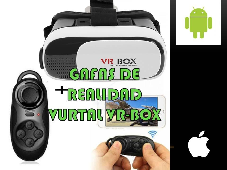 Gafas Realidad Virtual Vr Box 2018 Joystick Mini Control Remoto