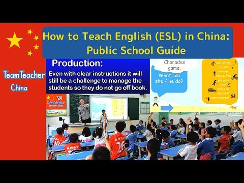 How to Teach English (ESL) in China: Public School Guide