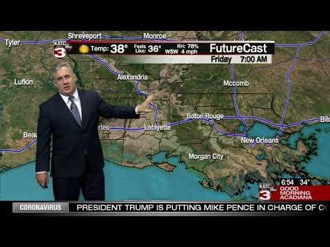 Dave's Thursday WeatherCast 02/27/2020