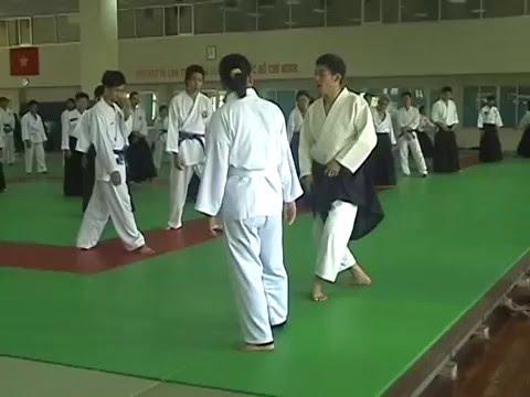 Hombu Instruction Tour Hochiminh City 2008 - Tomohiro Mori Shihan and Toshio Suzuki Shidoin