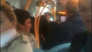 Wood Green London Bus Fight