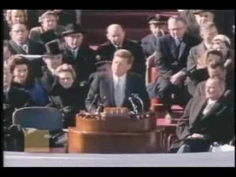 kennedy inaugural address