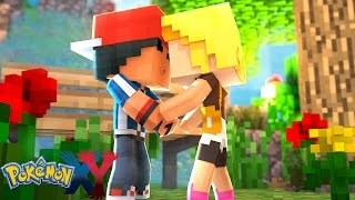 Minecraft: Pokemon X Y - O MELHOR BEIJO NA BOCA DA BONNIE #70