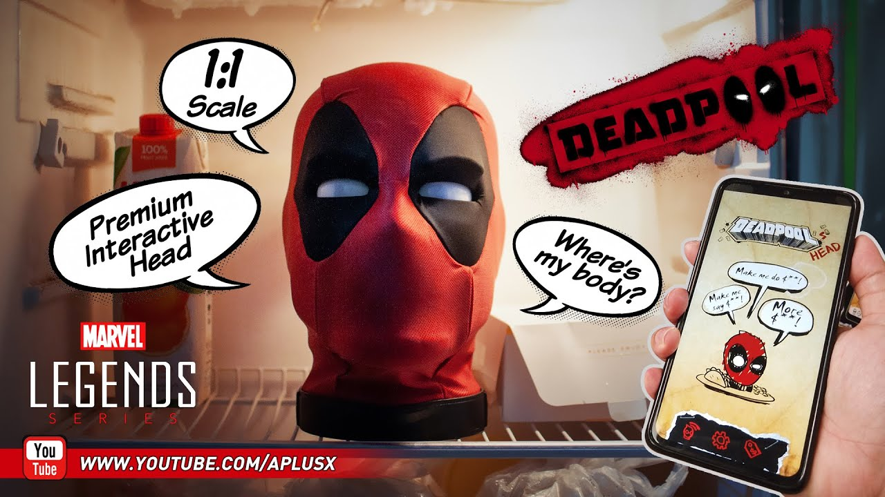 Review : Hasbro Marvel Legends Deadpool Interactive Head