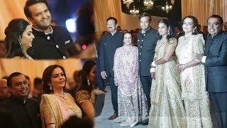 LIVE : Isha Ambani Anand Piramal ARRIVE With Families At Their GRAND Mumbai Reception 2018