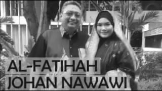 Mesej suara Nora memaklumkan kematian suaminya, Johan Nawawi.