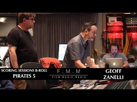 Pirates 5 Scoring Sessions With Geoff Zanelli - B-Roll