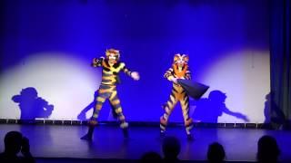 Mungojerrie and Rumpleteazer musical CATS russian - Liepinsh Polina Lyaskovets Ivan