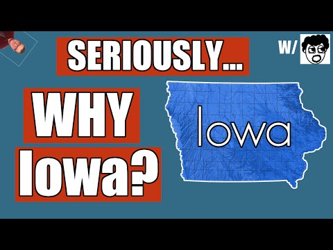 Why Does Iowa Go First?! | History of The Iowa Caucus Explained 2016