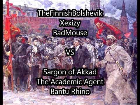 Capitalism VS Socialism Debate - FinBol, Xexizy, Badmouse vs. Sargon, Academic Agent, Bantu