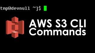 AWS S3 CLI Tutorial: AWS S3 CLI and S3API Basic Commands Mp3