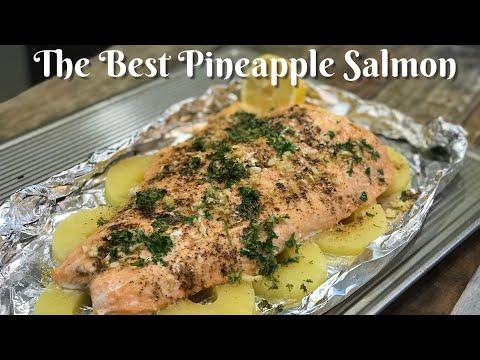 EASY SALMON RECIPE : How To Bake A Craving Pineapple Salmon