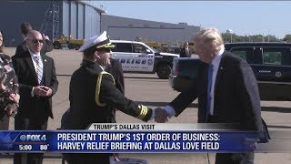2017-10-26-00-45.President-Trump-lands-in-Dallas-for-private-fundraiser