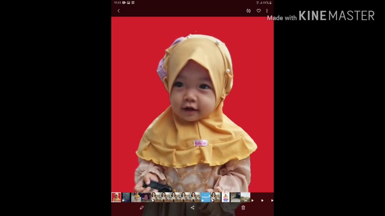 Cara mudah edit background foto || mengganti background ...