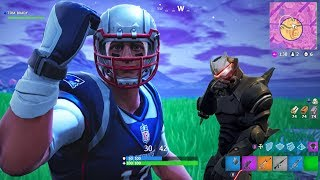 "TOM BRADY vs ""HACKER"" On Nintendo Switch! Fortnite Battle Royale Gameplay Ep. 43"
