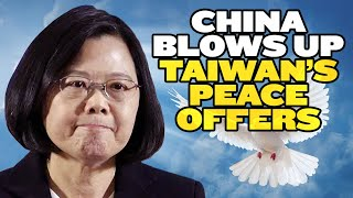 China Blows Up Taiwan's Olive Branch | India Taiwan Lovefest!