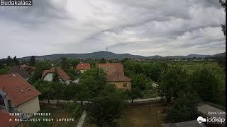 Undulatus asperatus felhők Budakalászon