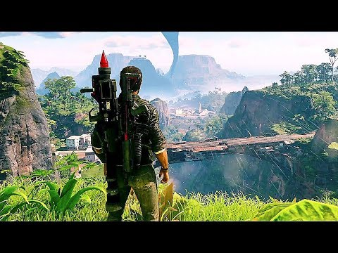 JUST CAUSE 4 Gameplay Demo (Gamescom 2018)