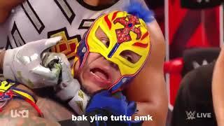 WWE Komik Montaj - Rey VS Gran Metalik #10 (küfürlü)