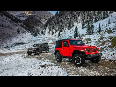 Colors Revealed!!! 2018 Jeep Wrangler Unlimited Colors