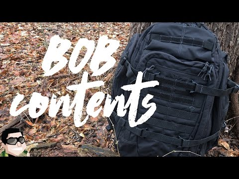 First Tactical 3-Day Bug Out Bag Contents & Mentality