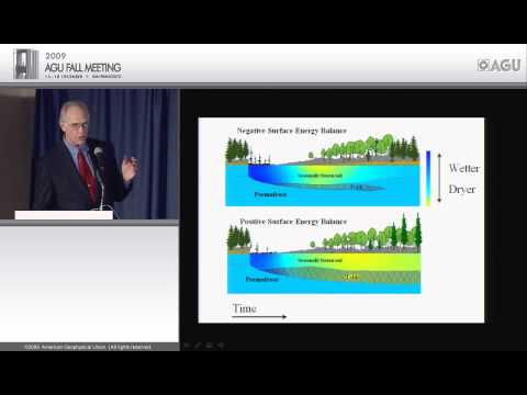 C24A Nye Lecture - Arctic Hydrology and the Role of Feedbacks in the Climate System