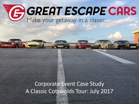 A Classic Cotswolds Tour: corporate event experience July 2017