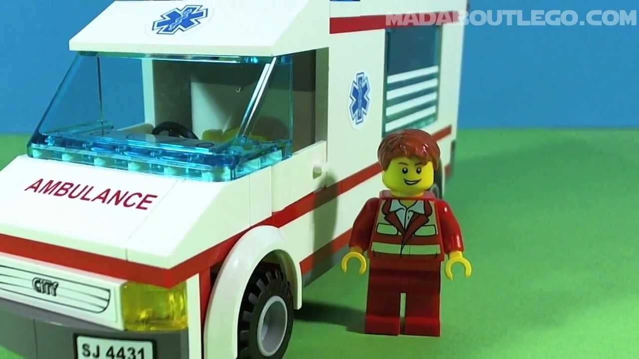 Lego city ambulance 4431 youtube - Lego ambulance ...
