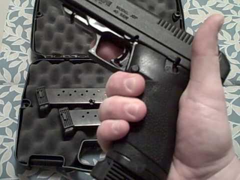 Hi-Point 40 Caliber and Hogue Hand All Grip