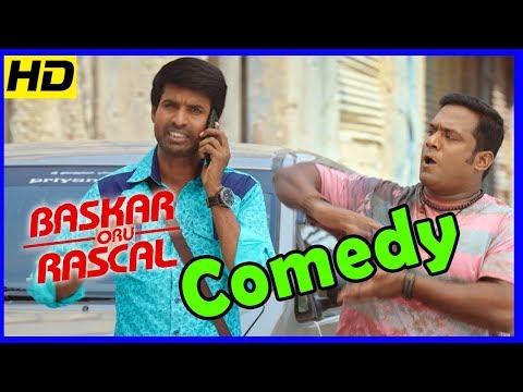 Bhaskar Oru Rascal Tamil Movie | Full Comedy Scenes | Arvind Swamy | Soori | Robo Shankar