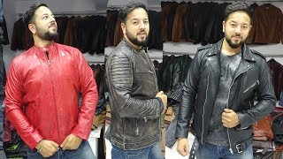 PURE LEATHER JACKETS MANUFACTURER | BIKER, RACER, ROADIES, SCHOTT JACKETS, LONG COAT | WINTER STOCK