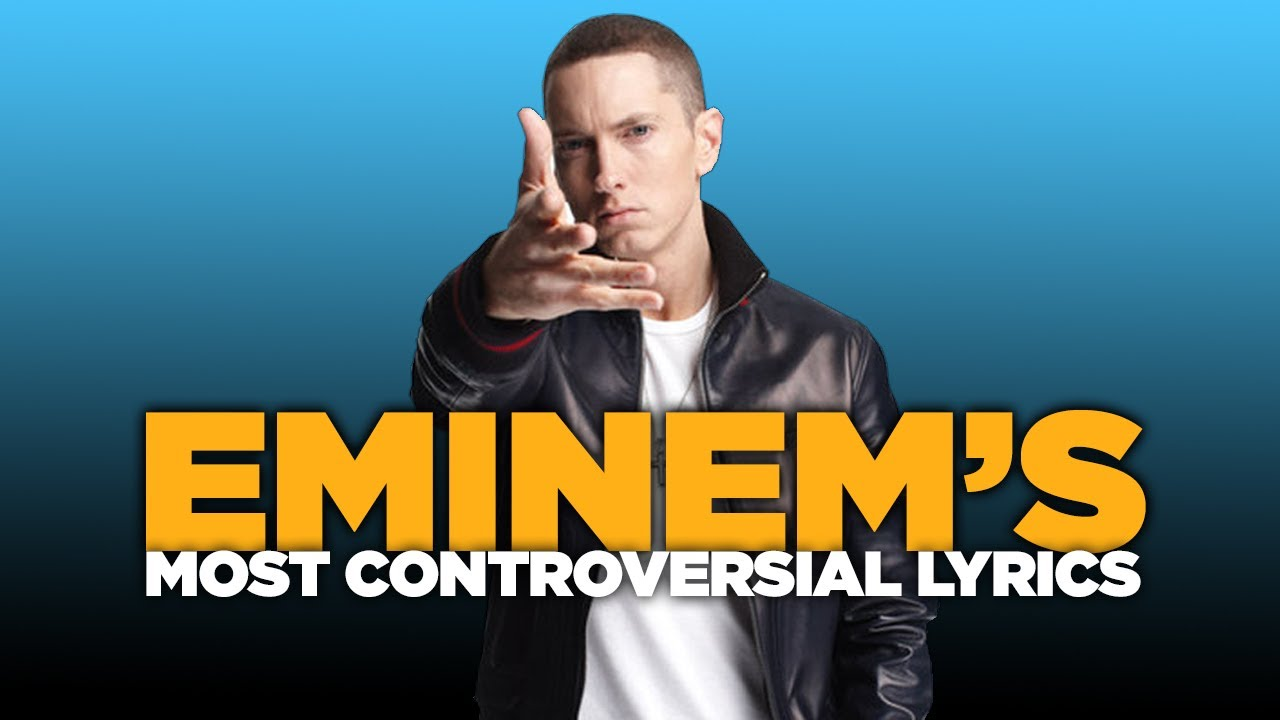 eminem s controversial lyrics essay example Rihanna and eminem's controversial new song by singing in notoriously misogynistic eminem's song about domestic violence, the inscrutable rihanna has caused a controversy.
