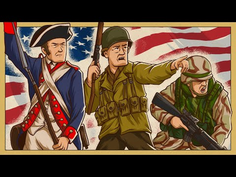 Evolution of American Army Uniforms | Animated History