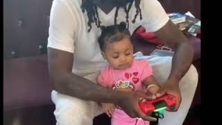 Cardi B Offset Having Adorable,quality bonding time with Baby Kulture