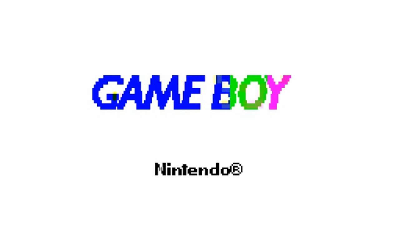 Gameboy Color - Boot Up Screen - YouTube