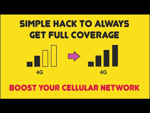 How To Increase Signal Strength Of Mobile || Get Full Coverage