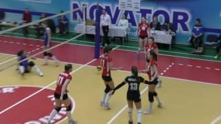 Жінки. Волейбол. Новатор Хмельницький - Інваспорт Київ