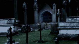 Filming paranormal activity (ghost & zombie) in an old graveyard.