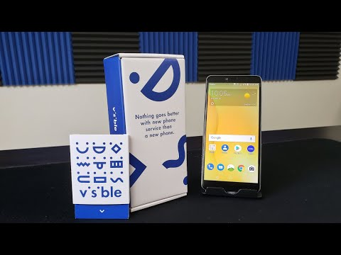 Zte R2 Unboxing and First Boot Up Visible Wireless (Free Phone Promo)