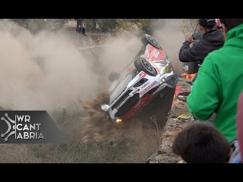 51 WRC Rally Spain Catalunya | Crash & Maximum Attack | HD