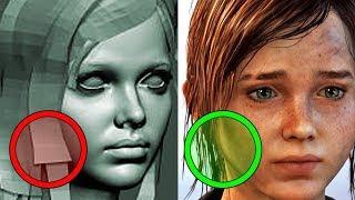 Jak naprawdę wyglądają włosy w grach?