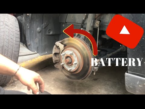 Replacing battery on a Dodge Avenger