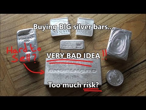 Is buying BIG silver bars a very bad idea?