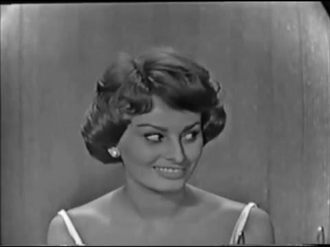 What's My Line? - Sophia Loren; Dick Clark [panel] (Jun 29, 1958)