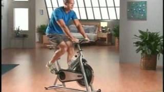 Ethan Stone in Spinning Bike infomercial