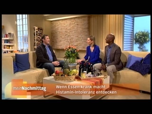 NDR3 meinNachmittag - Histamin-Intoleranz