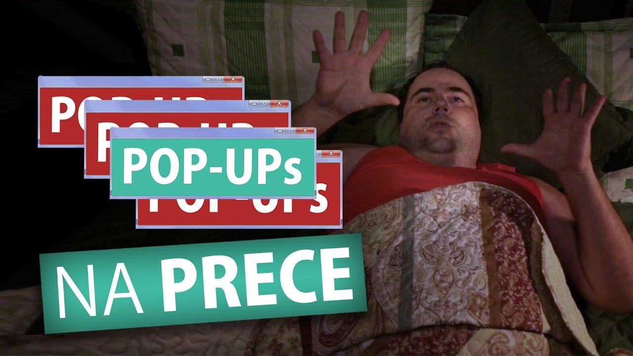POP-UPs NA PRECE (Humor e Espiritismo)